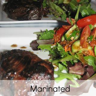 Marinated Flank Steak.