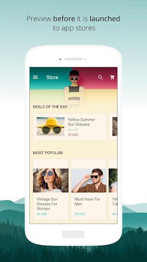 bobile - create your own app Rocksteady screenshots 2
