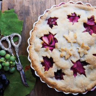 Grape & Apple Pie