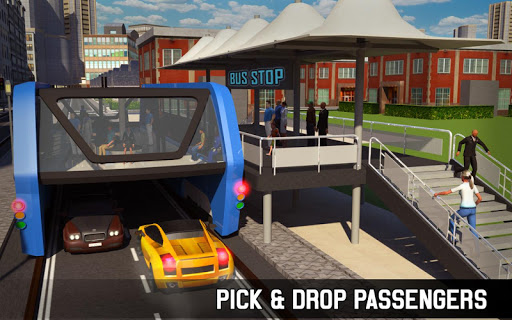 Elevated Bus Simulator: Futuristic City Bus Games 2.2 screenshots 12