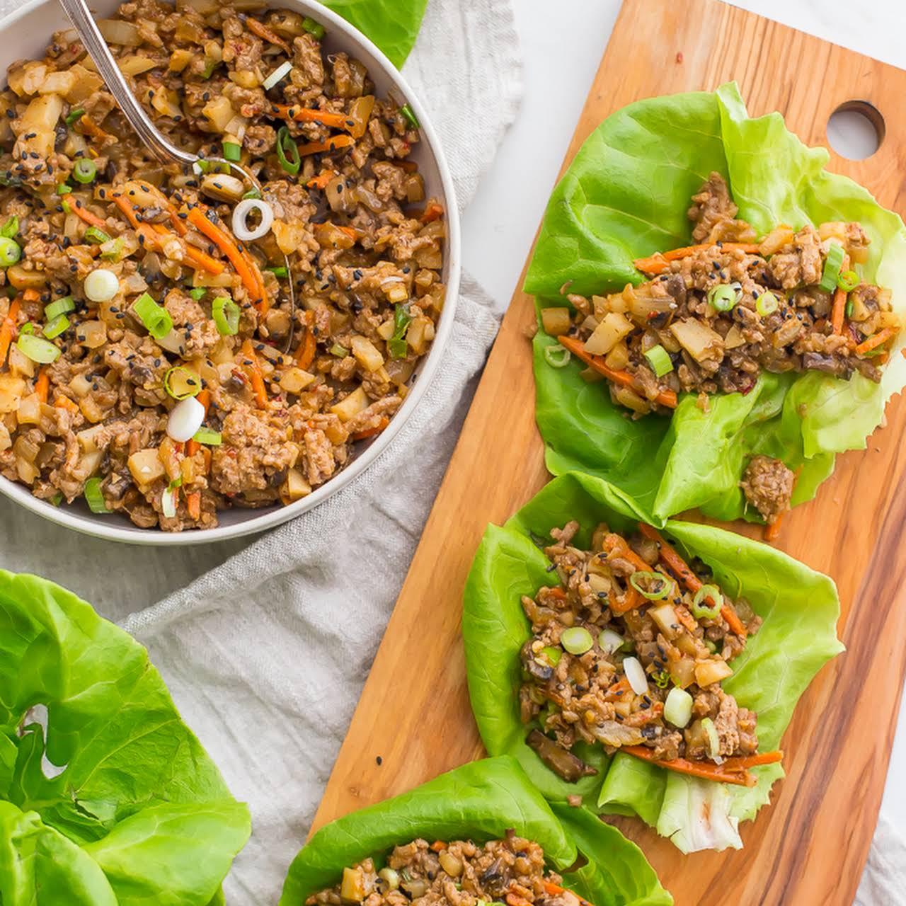 Whole30 Lettuce Wraps (PF Changs Lettuce Wraps Recipe)