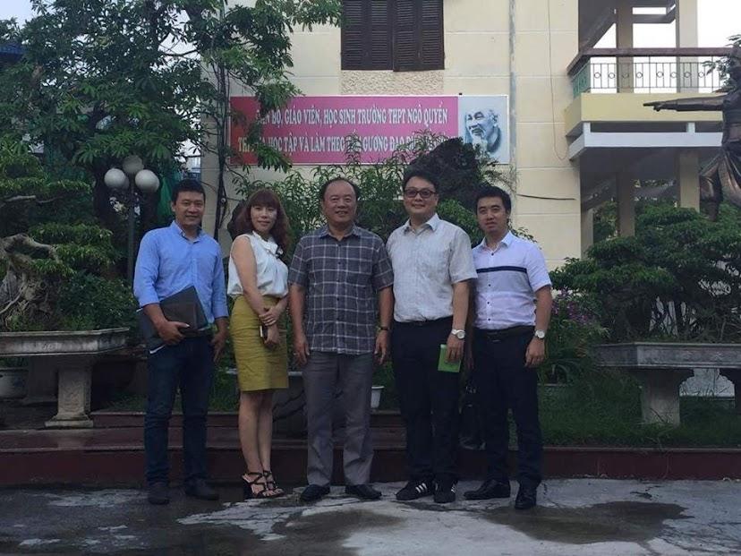 ICC Hà Nội cùng đại diện trường Busan...