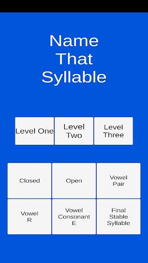 Name That Syllable  screenshots 1