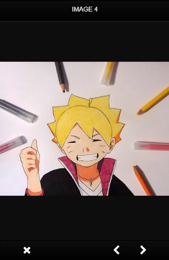how to draw naruto characters apk