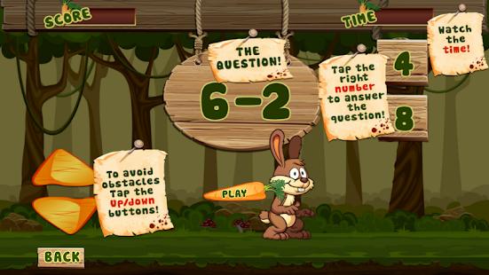 Bunny Math Survive - náhled