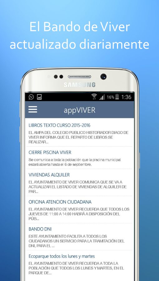 appVIVER- screenshot
