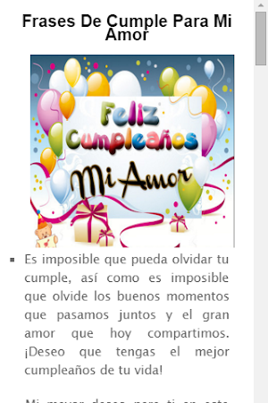 Frases De Feliz Cumpleanos 1 1 Apk Free Entertainment Application
