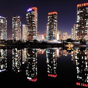 Incheon Central Park  by Khoirul Huda - City,  Street & Park  City Parks
