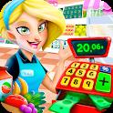Supermarket Manager - Store Cashier Simulator icon