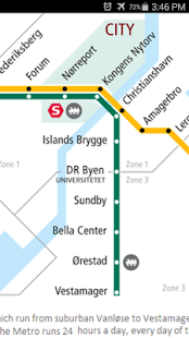 Copenhagen Metro Map Android Apps on Google Play