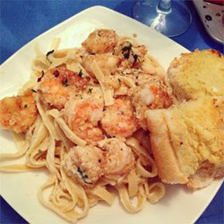 Absolutely the Best Shrimp Scampi.