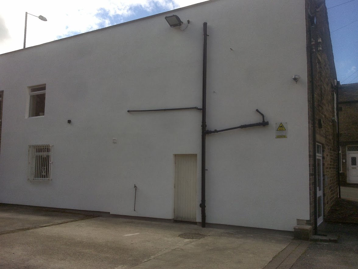 Calder Valley Club wall