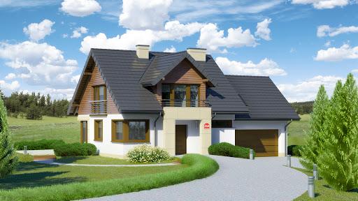 projekt Dom przy Cyprysowej 36 D