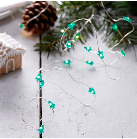 Ljusslinga granar mini - Rustic Christmas.