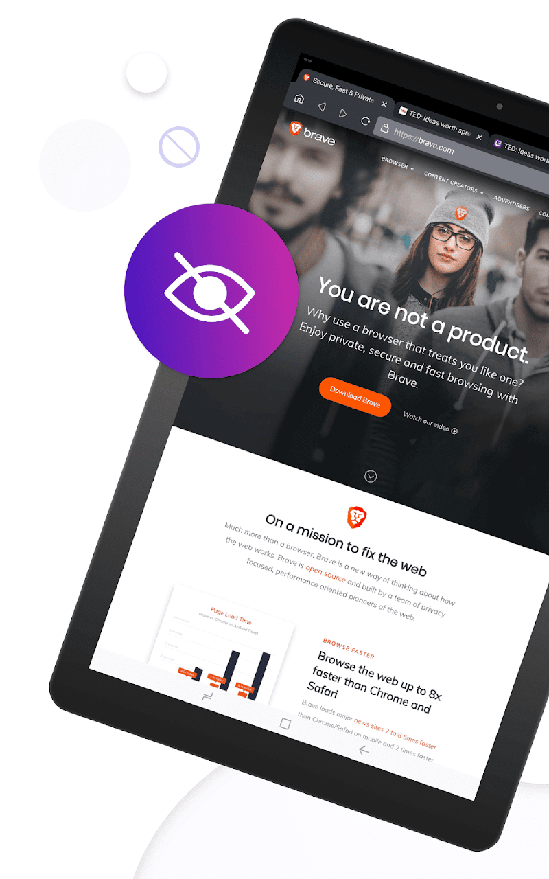 Brave Privacy Browser: Fast, free and safe browser Screenshot 7