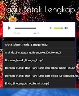 Complete Batak Song - náhled