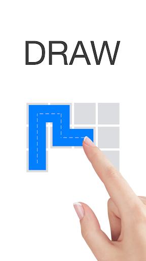 頭が良くなる一筆書きパズル Draw