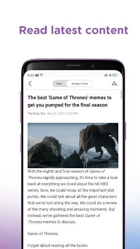 SnippetMedia Lite - News & Earn Real Cash! 1.2.9 screenshots 3