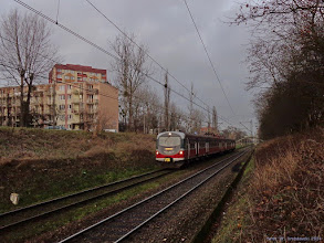 Photo: EN57-2071, Toruń Wschodni - Łódź Kaliska {szlak Toruń Wschodni - Toruń Miasto; 2014-12-18}