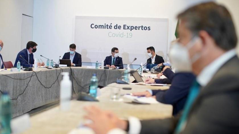 Reunión del Comité de Expertos este martes 27 de abril.