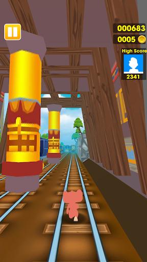 Subway Dash: Jerry Escape 1.0.1 screenshots 2