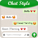 Chat Style For WhatsApp : Cool Font & Stylish Text icon