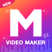 M Video Maker with music, Master in Video Editor