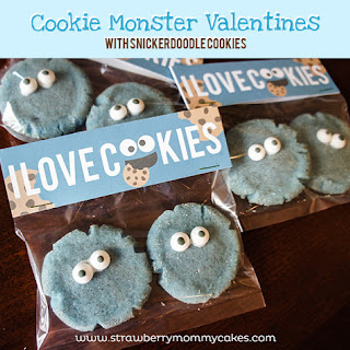 Cookie Monster Snickerdoodles
