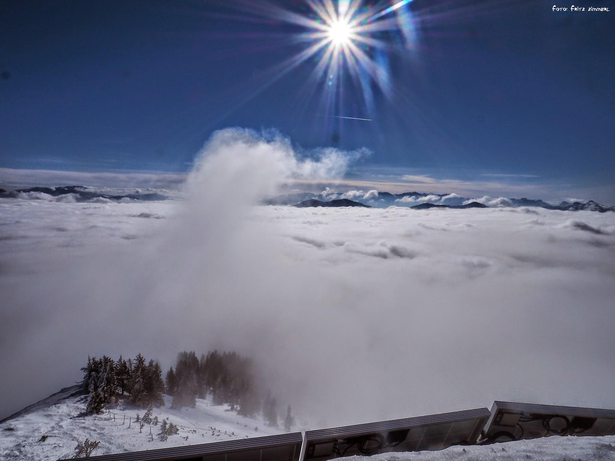 Photo: Über den Wolken,..........