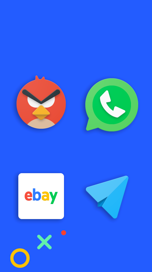 Frozy / Material Design Icon Pack Screenshot 7