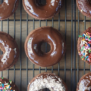 Gluten-Free Baked Chocolate Glazed Donuts (11 Ingredients)