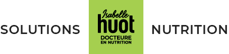 Logo Isabelle Huot Solutions Nutrition