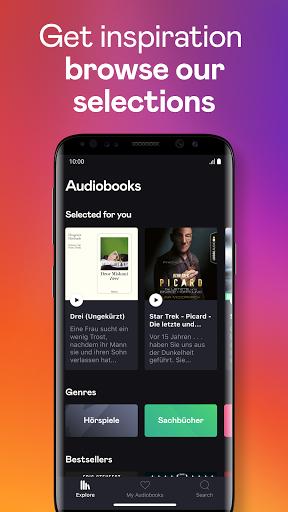 Audiobooks by Deezer screenshot 2