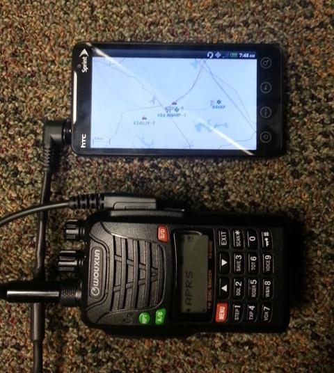 APRS – Hardwired Cell – WCARES