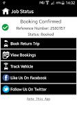 Screenshot of Atlas Cars London Taxi MiniCab