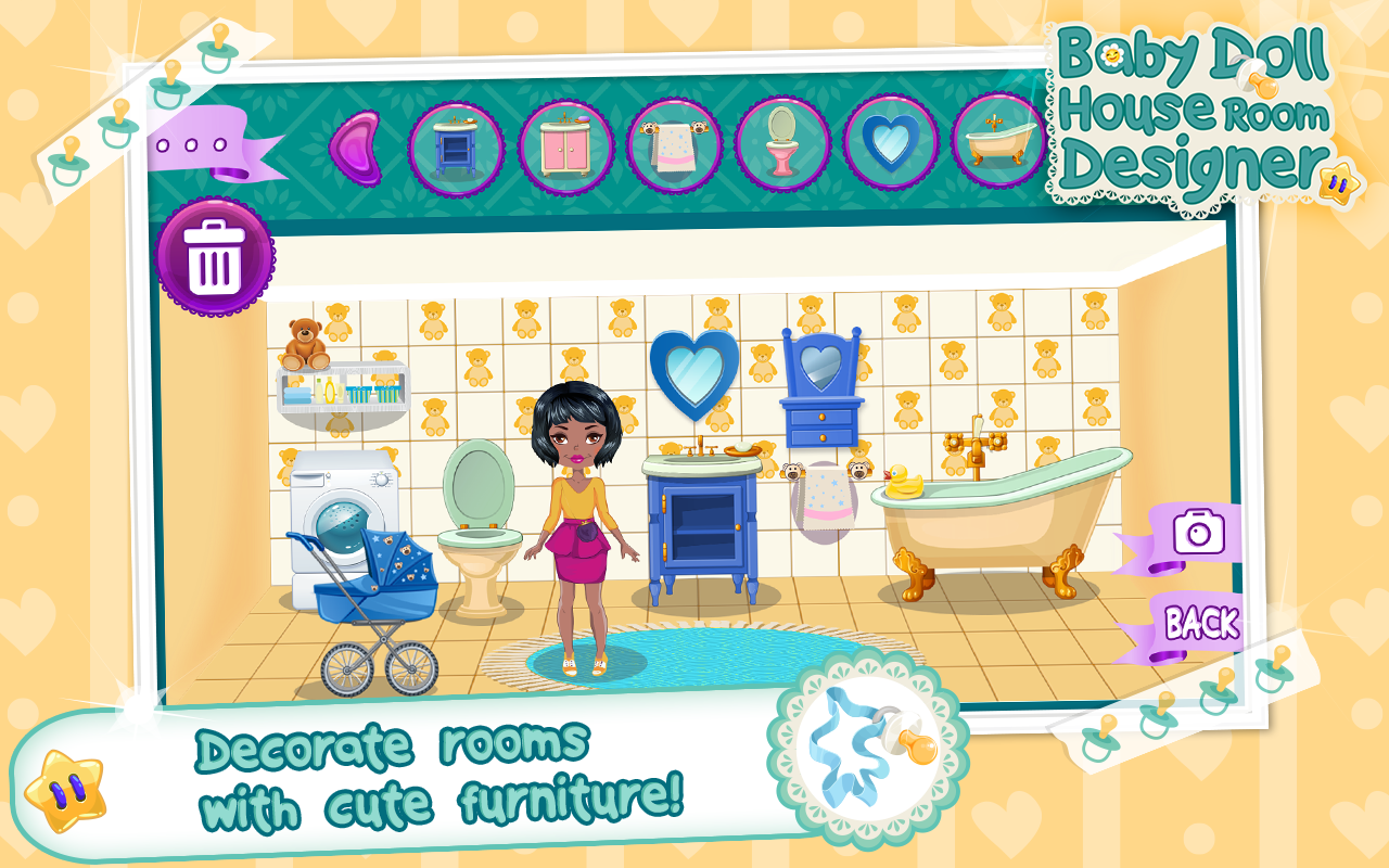 Baby doll house room designer android apps on google play for Room planner game