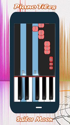 Piano Tap Sailor Moon screenshot 3