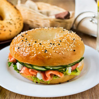 salmon and cream cheese all fish seafood recipes smoked salmon bagels ...