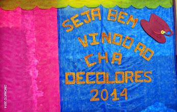 Photo: Chá Decolores 2014