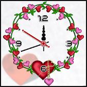 Tải Game Heart clock live wallpaper free