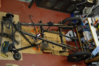Photo: and then there was a chassis in bits