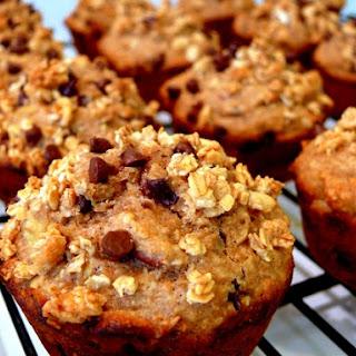 Crunchy Maple-Banana-Pecan Breakfast Muffins