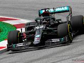 Hamilton domineert als vanouds in zwarte Mercedes, Vettel geeft teken van leven voor Ferrari in tweede sessie