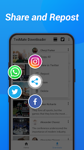 App Download Twitter Videos - Save Twitter & GIF APK for Windows Phone