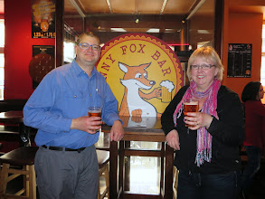 Photo: The Funny Fox!  We stopped here on our first night