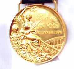 Photo: 1996 Eskild Ebbesens OL guldmedalje