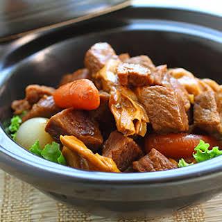 Cantonese Beef Stew.