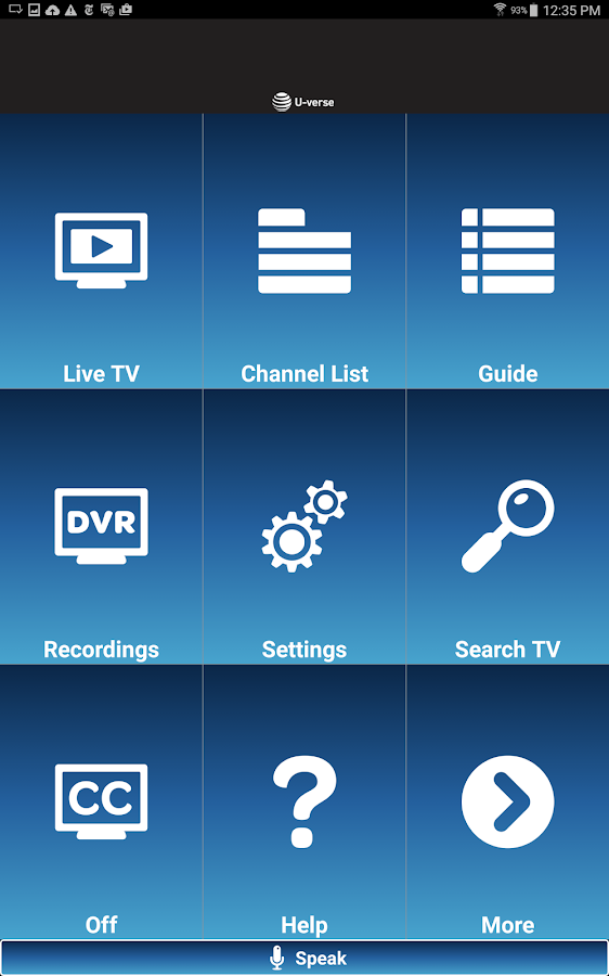 U-verse Easy Remote- screenshot