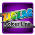 Zig - zag Colour Line icon