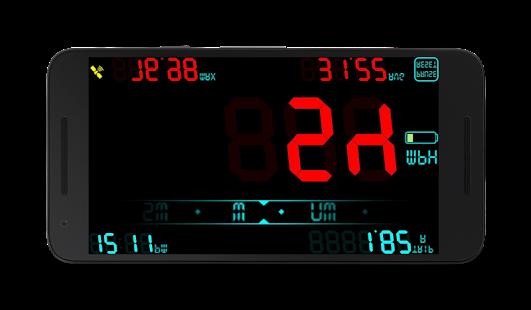 DigiHUD Speedometer - náhled